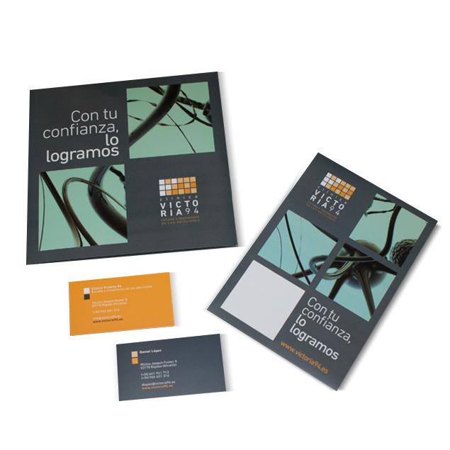 Proyecto publicidad alicante - clinica victoria - identidad visual - simbolo ingenio creativo 5
