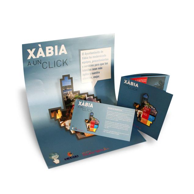 proyecto ayuntamiento de xabia - campana publicidad y comunicacion  alicante - simbolo ingenio creativo
