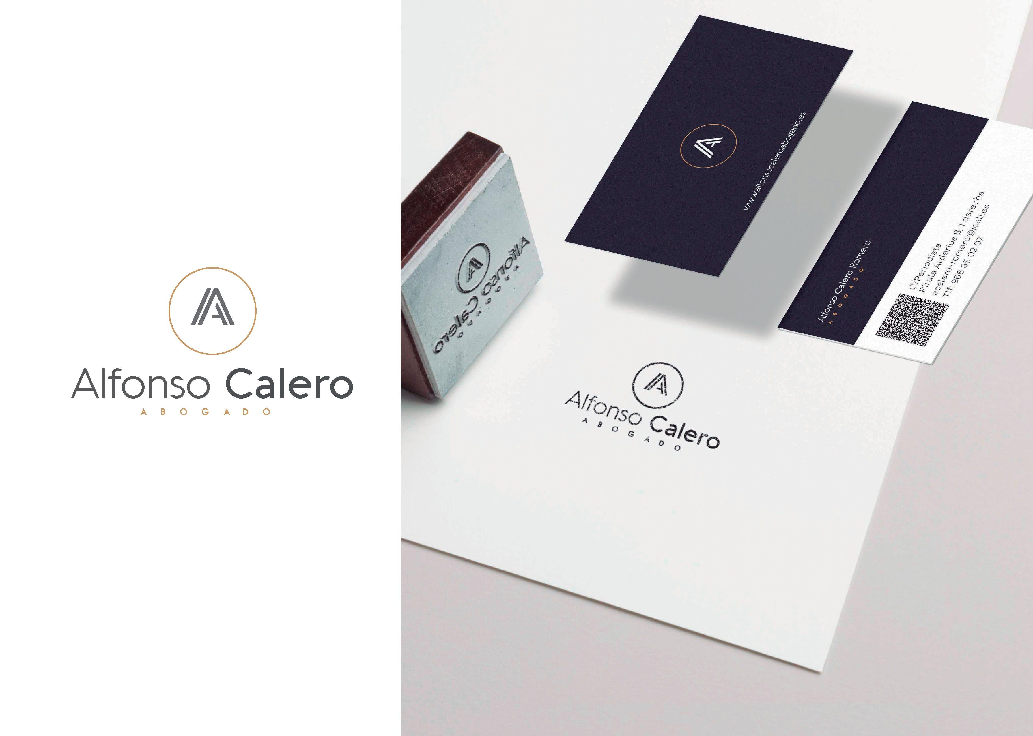 Imagen corporativa abogados Alfonso Calero